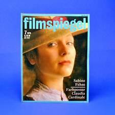 DDR ▶ Filmspiegel 7/1979 Claudia Cardinale Peter Starke
