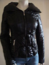 NWT G BY GUESS JET BLACK JACKET/COAT 100% AUTHENTIC-XSM