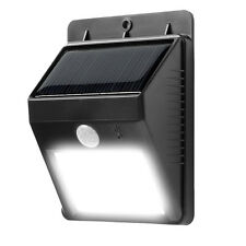 Bright Solar Power Outdoor No Tools Required Motion Activated LED Light NEW