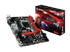 MSI B150M GAMING Pro microATX Motherboard HDMI Sat 6Gb/s + free gaming mice pack