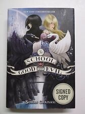 NYCC2013The School for Good and Evil Trilogy: book No. 1 SIGNED by Soman Chainan
