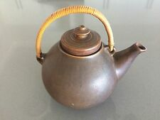 NICE CHOCOLATE GLAZE ARABIA 10-64 TEAPOT MADE IN FINLAND