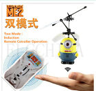 Kids Minions Gifts Sensor RC Fly Ball Induction Toy Kids RC Romote Hobbie Toy