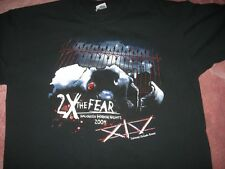 Universal Halloween Horror Nights 2X The Fear 2004 Adult Small T-Shirt