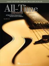 All-Time Standards : Jazz Guitar Chord Melody Solos by Jeff Arnold (2006,...