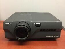 Sony VPL-S900 1100 ANSI Lumens ports LCD Video Projector