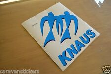 KNAUS - (STYLE 3)(PRINTED) - Motorhome Logo Sticker Decal Graphic - SINGLE