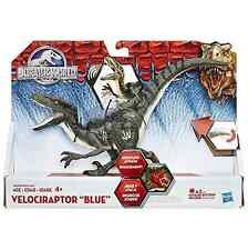 "JURASSIC WORLD ""Growling Sound"" VELOCIRAPTOR BLUE 2015 Hasbro DINOSAUR FIGURE"