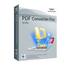 Wondershare PDF Converter PRO MAC Vollversion ESD Download 39,99 statt 79,95 !!