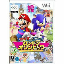Nintendo Wii Import Japan  Mario and Sonic at the London 2012 Olympic Games