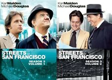 THE STREETS OF SAN FRANCISCO SEASON 3 VOL 1 + 2 New Sealed 6 DVD