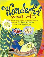 Wonderful Words: Poems About Reading, Writing, Speaking, and Listening, , Good C
