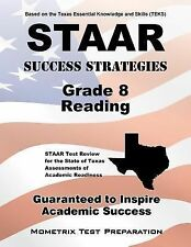 STAAR Success Strategies Grade 8 Reading Study Guide : STAAR Test Review for...