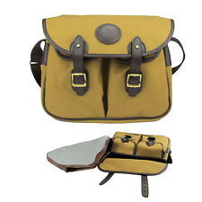 Tourbon Fly Trout Salmon Bag Fishing Storage Carrier Waterproof Canvas Vintage