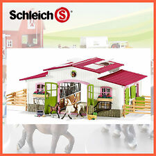 NEW SCHLEICH HORSE CLUB STABLE RIDING CENTRE with HORSES & ACCESSORIES 42344