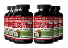 Metabolism Booster - EXTRA VIRGIN COCONUT OIL 3000 - Naturaly Weight Loss 6B