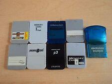 Lavoro Lotto Playstation 1 schede di memoria-Scheda di memoria PS1 Bundle