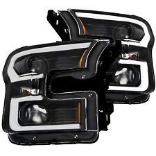 Anzo USA 111347 Projector Headlight Set Fits 15-16 F-150 - NEW!!