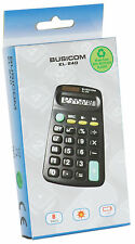 Small Calculator Busicom EL240 8 Digit Solar Display New