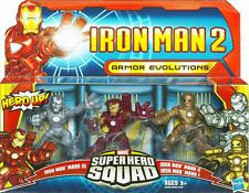 Marvel Superhéroe Squad-Armour evoluciones - 3 figura Pack-Iron Man 2