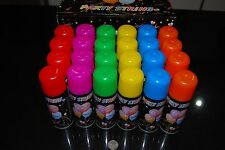 Lot Of 24cans Silly Goofy Crazy Prank Party String Spray Streamer Holiday