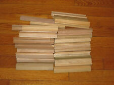 28 WOODEN SCRABBLE LETTER TILE HOLDERS GREAT FOR GAME OR CRAFTING