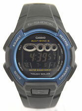 CASIO G-Shock GW810H-2 Solar Atomic Digital Black Resin Band