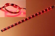 LED Streifen Strip Band Leiste 30cm Rot ; IP65 ; 15LEDs 24V DC 1210 SMD