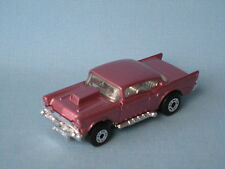 Lesney Matchbox Superfast 1957 Chevy met Pink Body Unpainted Base Unboxed