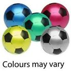 """Deflated PVC Plastic Football Soccer 8.5"""" Flat Uninflate Kids Party Child Pool"""