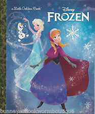 FROZEN Little Golden Book NEW Disney MOVIE Story PRINCESSES Anna ELSA Princess