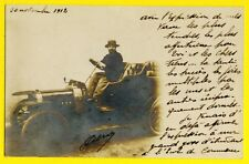 CPA CARTE PHOTO 1912 AUTOMOBILE VOITURE Photo Card Auto Car