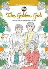 Golden Girls Adult Colouring Book TV Show Comedy Rose Blanche Sophia Dorothy