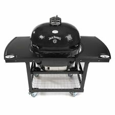 Primo Grills Jack Daniel's Edition Oval 400 XL Ceramic Grill W/ Cart & 2pc Top