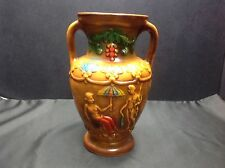 Mid Century Norleans Handled Art Pottery VASE, Japan