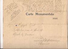 CPA - Carte Monumentale - CHATEAU DE BLOIS vers Marche-Lez-Ecaussinnes 28 x 22,5