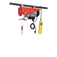 New 120V 440LB ELECTRIC MOTOR OVERHEAD GARAGE CRANE WINCH HOIST 440 LB