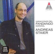 Staier, Andreas Variaciones Del Fandango Espanol CD