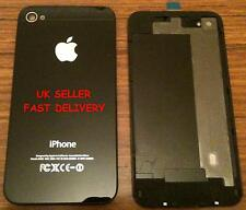 iPhone 4 back glass cover -- black