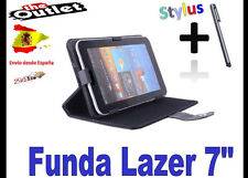 "FUNDA NEGRA TABLET LAZER 7"" UNIVERSAL  ALCAMPO CARREFOUR TABLET PC ANDROID 4"