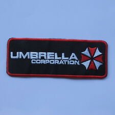 RESIDENT EVIL UMBRELLA CORPORATION EMBROIDERED IRON ON PATCH T-SHIRT JACKET JEAN