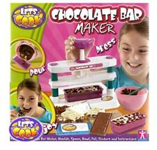 New Let's Cook: Childrens Chocolate Bar Maker Playset With Accessories Age 5+