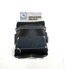 Black Leather Universal Holder Tool Pouch *NEW*