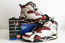 Vintage REEBOK Battleground Pump Made in Korea US8 UK7,5 RARE 80s 90s Original