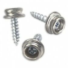 10 x 15mm Boat Cover Car Bike Helmet Caravan Base Press Studs Snap Screw 5/8""