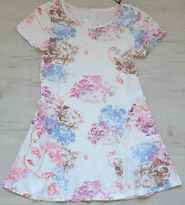 GUESS  KIDS GIRLS  KLEID DRESS MIT BLUMENPRINT NEU SOMMER 2017 Gr.110 / 5 Y