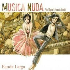 MUSICA NUDA - BANDA LARGA  CD 20 TRACKS ITALIANO POP NEU