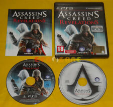 ASSASSIN'S CREED REVELATIONS + SOUNDTRACK Ps3 Versione Italiana Bundle »»» USATO