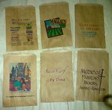 """250 • Custom Printed Merchandise Bags • 8-1/2"""" x 11""""  • Recycled Kraft Paper"""