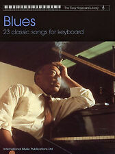 Colección De Blues-la Biblioteca de Teclado Fácil Libro De Partituras - 23 canciones Clásico